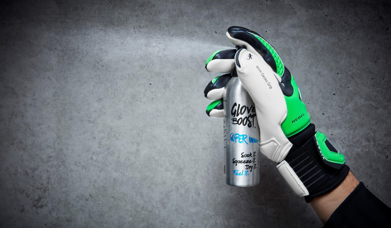 GloveBoost-Spray Strahl