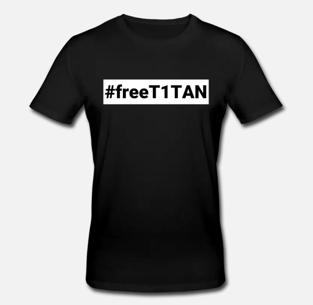 #freeT1TAN T-Shirt