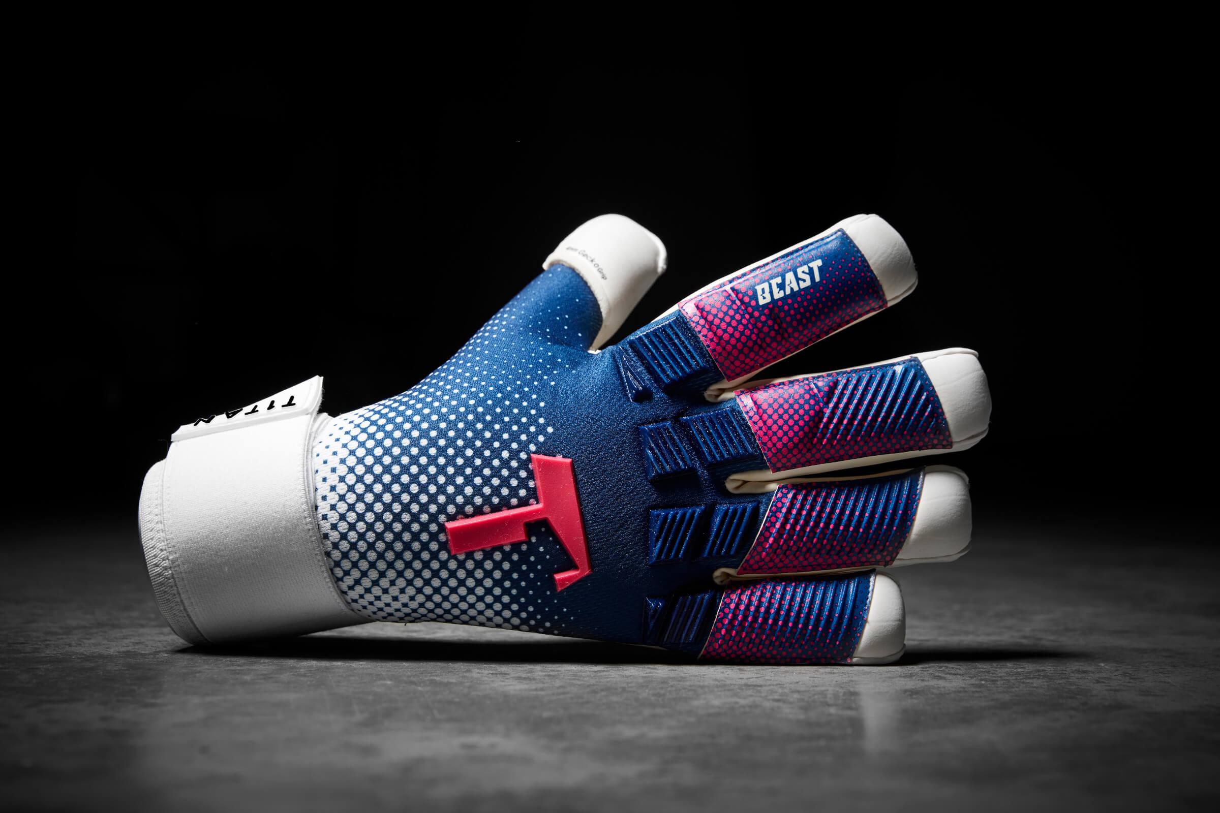 Blue Beast Professional Goalkeeper Gloves Bethebeast